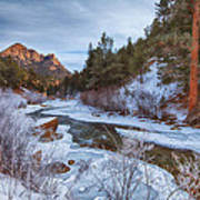 Colorado Creek Poster by Darren  White