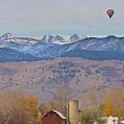 Colorado Hot Air Ballooning Poster