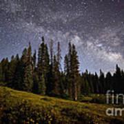 Colorado Milky Way Poster
