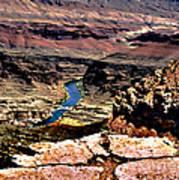 Colorado Rapids Grand Canyon Poster