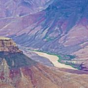 Colorado River At Cape Royal On North Rim Of Grand Canyon-arizona Poster