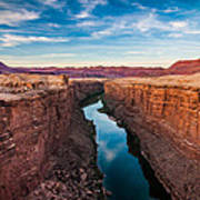 Colorado River At Marble Canyon Poster