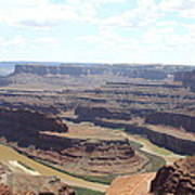 Colorado River From Dead Horse Point  Poster