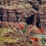 Colorado River In The Grand Canyon High Water Poster