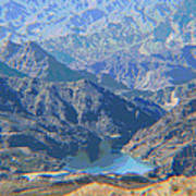 Colorado River View Poster