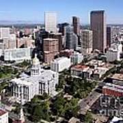Colorado State Capitol Building Denver Poster