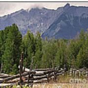 Colorado Wilson Peak Clouds Poster