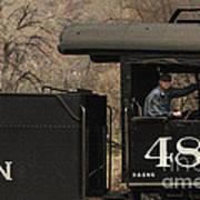 Colorados Durango Silverton Engine 480 Poster