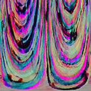 Colorful Abstract W Poster