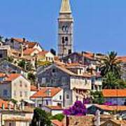 Colorful Adriatic Town Of Losinj Poster
