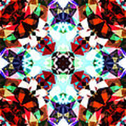 Colorful Kaleidoscope Creation Poster