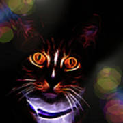 Colorful Kitty Poster