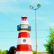 Colorful Lighthouse 2 Poster