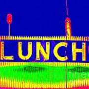 Colorful Lunch Poster