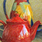 Colorful Pottery Poster by Kenny Francis