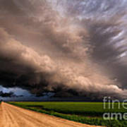 Colorful Shelf Cloud Poster
