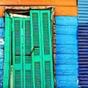 Colorful Slum Poster