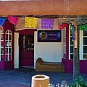 Colorful Store In Albuquerque Poster