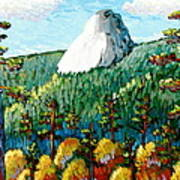 Colorful View Of Idyllwild California Poster