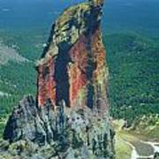 105830-colorful Volcanic Plug Poster