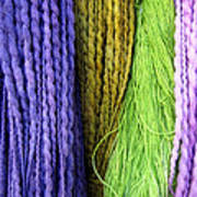 Colorful Yarn -  Photography Poster