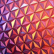 Colors Of Epcot Poster