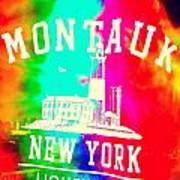 Colors Of Montauk Poster
