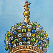 Colors Of Russia St Petersburg Cathedral IIi Poster by Irina Sztukowski