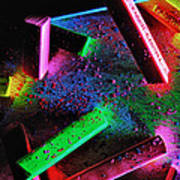 Coloured Chalks  Poster