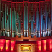 Colourful Organ Poster
