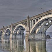 Columbia-wrightsville Bridge Poster