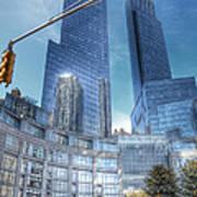 New York - Columbus Circle - Time Warner Center Poster