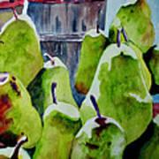 Columbus Pears Poster