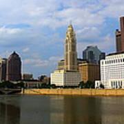 Columbus Skyline Poster