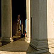 Columns Of A Memorial, Jefferson Poster