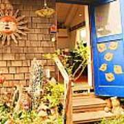 Come On In To A Mendocino Art Studio Poster