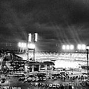 Comerica Park At Night Poster