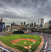 Comerica Park Home of the Tigers Poster