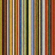 Comfortable Stripes V Poster by Michelle Calkins