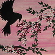 Coming Home To Roost Poster by Cathy Jacobs