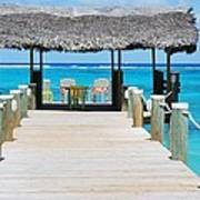 Tranquility At Compass Point, Nassau, Bahamas Poster