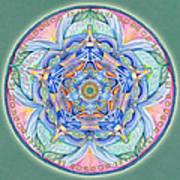 Compassion Mandala Poster