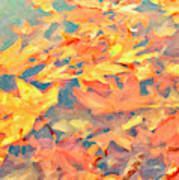 Computer Generated Image Of Autumn Poster
