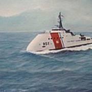 Concept design for Off Shore U. S. Coast Guar Cutter Poster