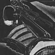 Concours At Dusk 1935 Auburn Speedster Poster