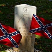 Confederate Grave   #2831 Poster