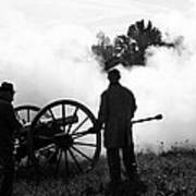 Confederate Twelve Pounder Fired - Perryville Ky Poster