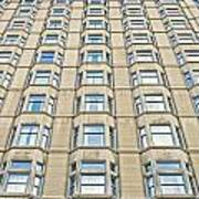 Congress Plaza Hotel Windows Poster