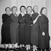 Congresswomen, 1938 Poster