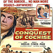 Conquest Of Cochise, Us Poster, Top Poster
